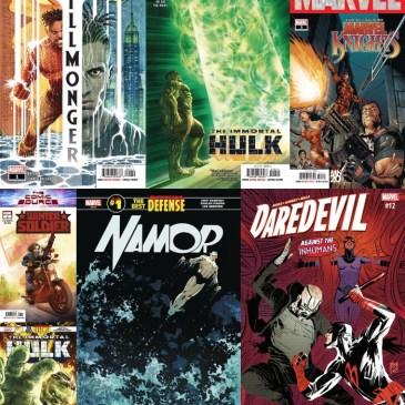 The Comic Source Podcast Episode 629 – Marvel Monday: Killmonger #1, Winter Soldier #1 Immortal Hulk #10 & Daredevil #12