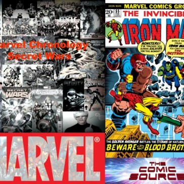The Comic Source Podcast Episode 634 – Marvel Chronology – Thanos: Iron Man #55