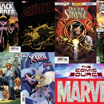 The Comic Source Podcast Episode 638 – Marvel Monday for December 12, 2018 Releases