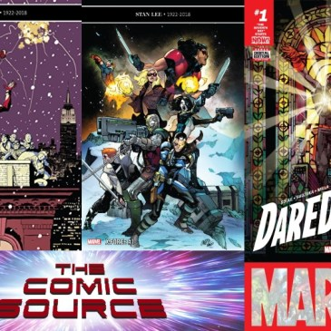 The Comic Source Podcast Episode 658 – Marvel Monday: Season's Beatings, X-Force #1 & Daredevil #15