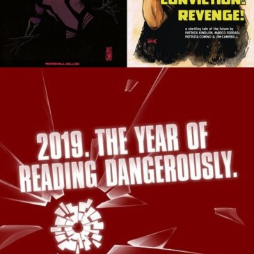 Moth and Whisper & Patience! Conviction! Revenge! AfterShock Monday: The Comic Source Podcast Episode #667