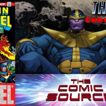 Thanos Chronology – Captain Marvel #27: The Comic Source Podcast Episode #685