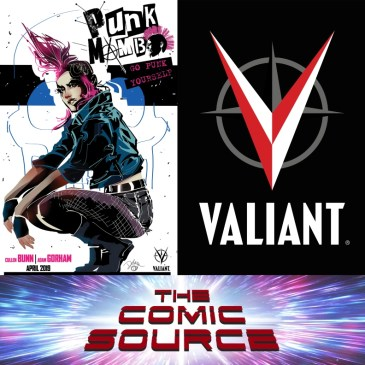Punk Mambo with Adam Gorham – Valiant Sunday: The Comic Source Podcast Episode #696
