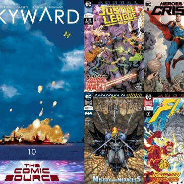 New Comic Wednesday January 30, 2018: The Comic Source Podcast Episode #701