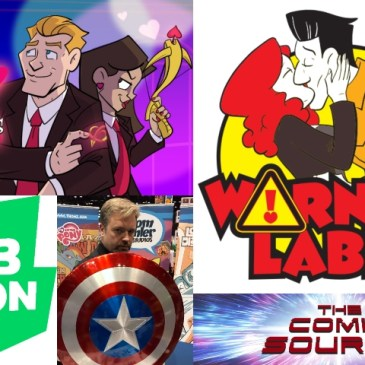 WEBTOON Wednesday Flashback – Warning Label & Cupid's Arrows with Thom Zahler: The Comic Source Podcast Episode #1278