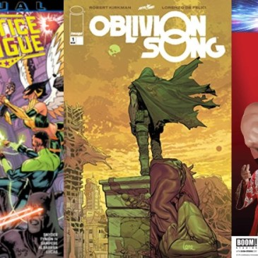 Spotlight Friday – Justice League Annual #1, WWE Forever #1 & Oblivion Song #1: The Comic Source Podcast Episode #714