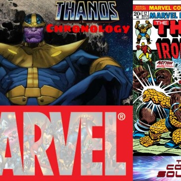 Marvel Chronology: Thanos Reading Order – Marvel Feature #12: The Comic Source Podcast Episode #725