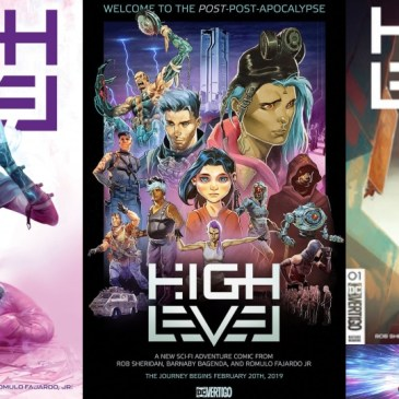 Spotlight Friday – High Level #1: The Comic Source Podcast Episode #754