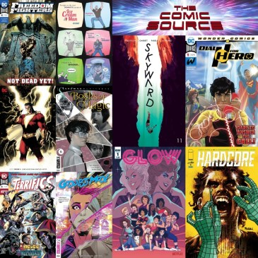 New Comic Wednesday March 27, 2019: The Comic Source Podcast Episode #781