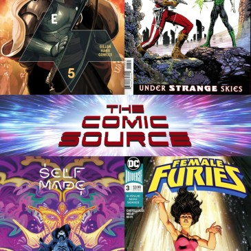 New Comic Wednesday April 4, 2019: The Comic Source Podcast Episode #792