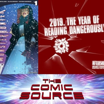 AfterShock Monday – Mary Shelly Monster Hunter Spotlight with Adam Glass & Olivia Cuartero-Briggs: The Comic Source Podcast Episode #799