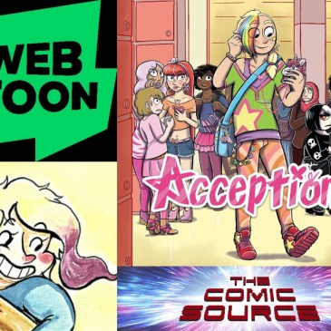 WEBTOON Wednesday – Acception with Coco Ouwerkerk: The Comic Source Podcast Episode #905