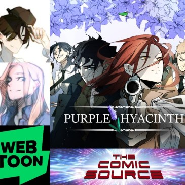 WEBTOON Wednesday – Purple Hyacinth with Emphemerys & Sophism: The Comic Source Podcast Episode #925
