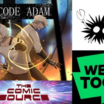 WEBTOON Wednesday – Code Adam with Atterozen: The Comic Source Podcast Episode #946