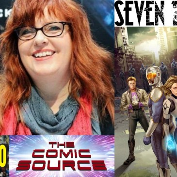 San Diego Sound Bytes with Gail Simone – Lion Forge & Seven Days: The Comic Source Podcast