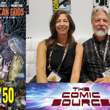 San Diego Sounds Bytes – American Gods with Scott Hampton & Jennifer Lange: The Comic Source Podcast