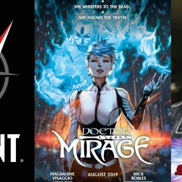 Valiant Sunday – Dr. Mirage with Mags Visaggio: The Comic Source Podcast Episode #981