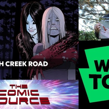 WEBTOON Wednesday – Witch Creek Road with Garth Matthams: The Comic Source Podcast Episode #1017