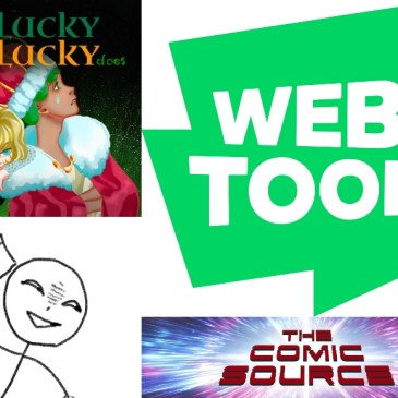WEBTOON Wednesday – Unlucky Is As Lucky Does: The Comic Source Podcast Episode #1037