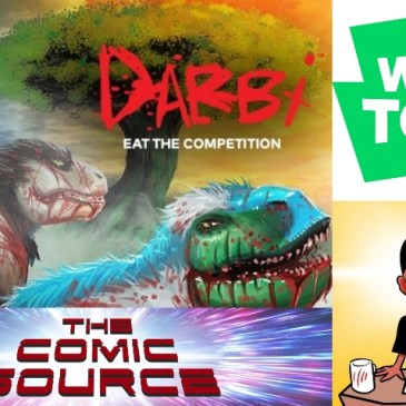 WEBTOON Wednesday – Darbi with Sherard Jackson: The Comic Source Podcast Episode #1118