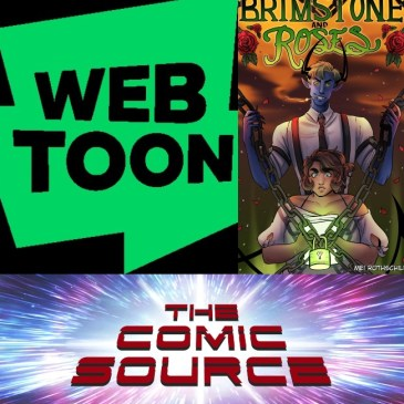 WEBTOON Wednesday – Brimstone & Roses with Mei Rothschild: The Comic Source Podcast Episode #1218