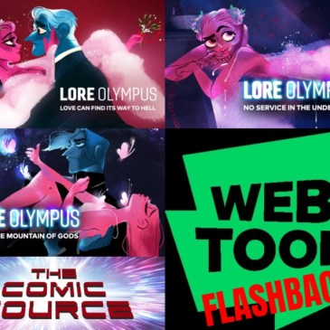 WEBTOON Wednesday Flashback – Lore Olympus with Rachel Smythe: The Comic Source Podcast Episode #1268