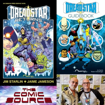 A Chat with Jim Starlin – Dreadstar Returns Kickstarter Spotlight: The Comic Source Podcast Episode #1349