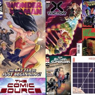 New Comic Wednesday July 29, 2020: The Comic Source Podcast