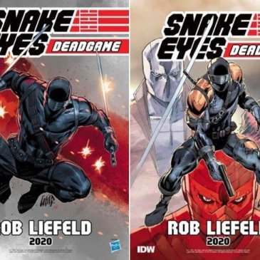Snake Eyes: Deadgame Spotlight with Rob Liefeld: The Comic Source Podcast