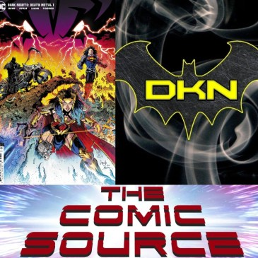 Dark Nights – Death Metal #1 Spotlight: The Comic Source Podcast