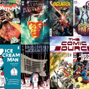 New Comic Wednesday August 5, 2020: The Comic Source Podcast