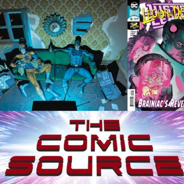 Justice League #18 & Heroes in Crisis #5 – Spotlight Friday: The Comic Source Podcast