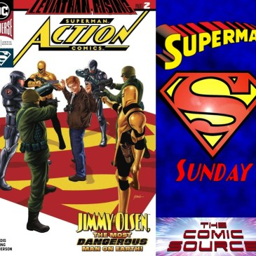 Superman Sunday – Action Comics #1008: The Comic Source Podcast