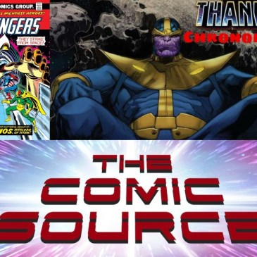 Avengers #125 -Marvel Chronology Thanos Reading Order: The Comic Source Podcast