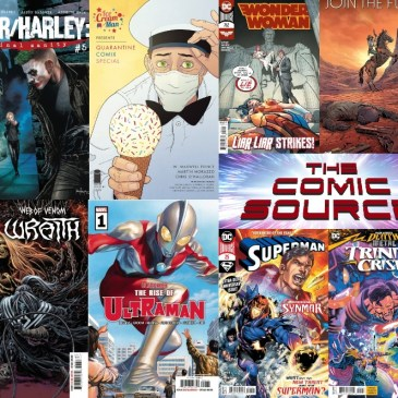 New Comic Wednesday September 9, 2020: The Comic Source Podcast