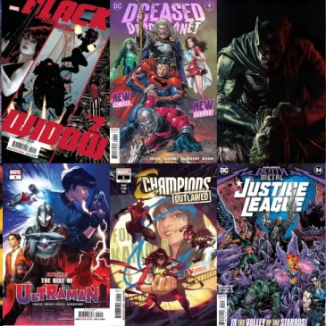 New Comic Wednesday October 7, 2020: The Comic Source Podcast