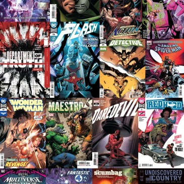 New Comic Wednesday November 25, 2020: The Comic Source Podcast