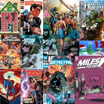 New Comic Wednesday December 23, 2020 – 12 Days of The Comic Source: The Comic Source Podcast