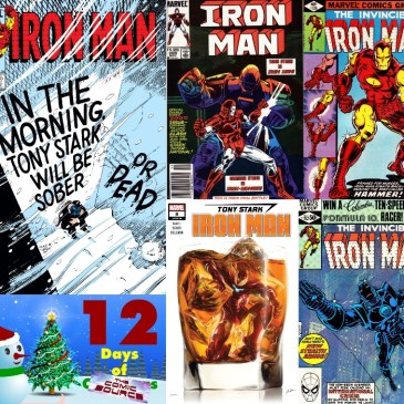 Five Favorite Covers – Iron Man | 12 Days of The Comic Source: The Comic Source Podcast