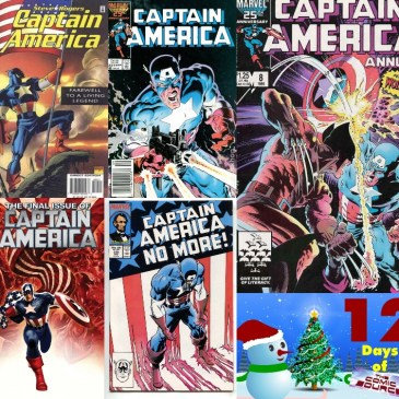 Five Favorite Covers – Captain America | 12 Days of The Comic Source: The Comic Source Podcast