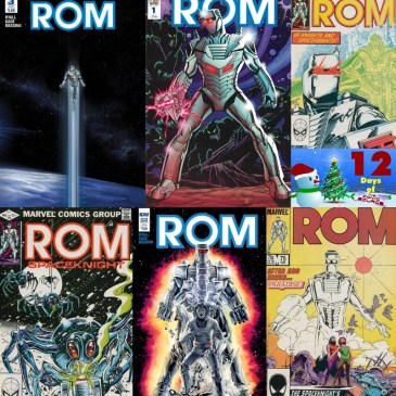 Five Favorite Covers – Rom | 12 Days of The Comic Source: The Comic Source Podcast