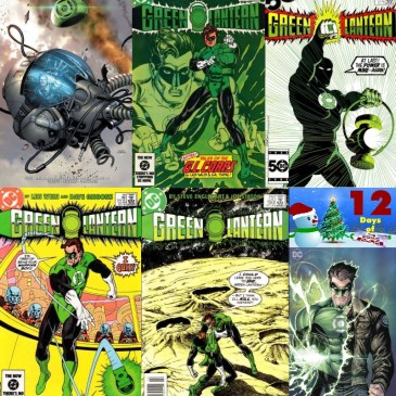Five Favorite Covers – Green Lantern | 12 Days of The Comic Source: The Comic Source Podcast