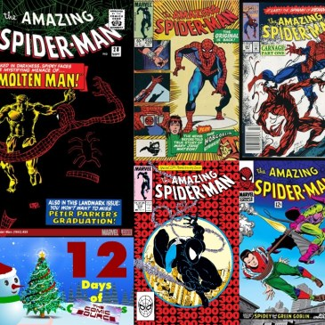 Five Favorite Covers – Amazing Spider-Man | 12 Days of The Comic Source: The Comic Source Podcast