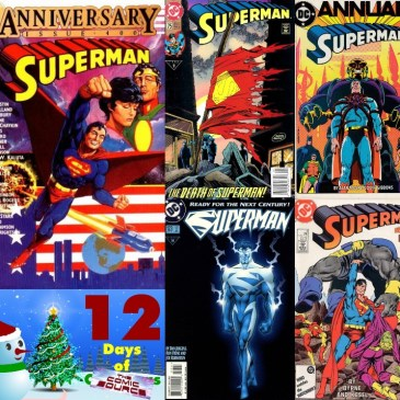 Five Favorite Covers – Superman | 12 Days of The Comic Source: The Comic Source Podcast