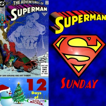 Adventures of Superman #474 | Superman Sunday – 12 Days of The Comic Source: The Comic Source Podcast