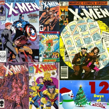 Five Favorite Covers – X-Men | 12 Days of The Comic Source: The Comic Source Podcast