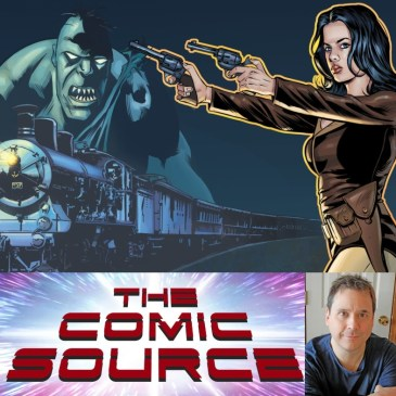 Athena Voltaire and the Terror on the Orient Express Kickstarter Spotlight with Steve Bryant: The Comic Source Podcast