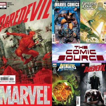 Daredevil #2, Fantastic Four #7, Avengers No Road Home #3 & More | Marvel Monday: The Comic Source Podcast