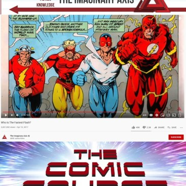 Comic Book Content Creator Conversation with Imaginary Axis: The Comic Source Podcast
