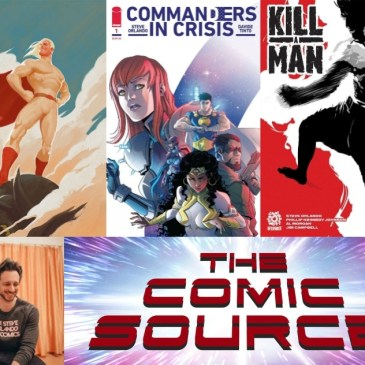 Patron Project, Kill A Man & More with Steve Orlando | AfterShock Monday: The Comic Source Podcast